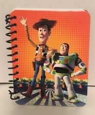 Toy Story Journal Disney Pixar Woody Buzz Lightyear Paper Notebook Pad NEW