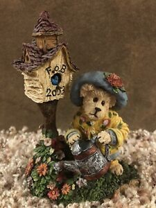Boyds Bears & Friends The Bearstone Collection Aunt Birdie Berriweather