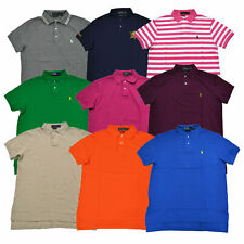 Polo Ralph Lauren Camisa Polo para hombre Malla Custom Fit Pony Logo Nuevo S M L XL XXL