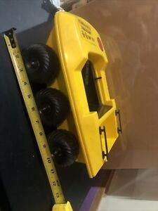 1970s GI Joe Adventure Team 6-Wheel Yellow ATV Mummy's Tomb Hasbro Made in USA