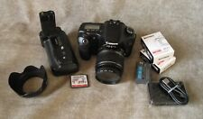 Canon EOS 30D Digital SLR Camera w/Canon EF-S 18-55mm IS Lens.