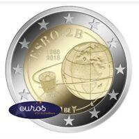 Pièce 2 euros commémorative BELGIQUE 2018 - ESRO-2B, Premier Satellite Européen