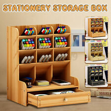 Schreibtisch Organizer Stiftehalter Aufbewahrungsbox Schreibtischbox Schubladen