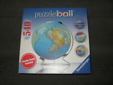 Ravensburger, 3D Puzzleball Globe, 540 Pieces, Puzzle, New in box, with stand