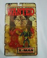 Marvels Most Wanted X-MAN Poseable Psychic Base MOC Nathan Grey Toy Biz 1998 NEW