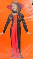 Vampiress Girl's Vampire Halloween Dress-Up Costume 8-10 Medium #7131