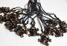 12 X Skull 'n Bones Treats Goodies Favors Necklaces Halloween Office Party Gifts