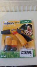 Hozelock Water Spray Jet Sprayer Gun For Garden Hose Pipes + Fittings 2348