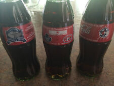 Set of 3 Toronto Maple Leafs Coke Bottle's Celebrating Last, First and All Star