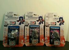 Transformers Figurines Megatron Hasbro set of 3 series 1 3D Puzzle piece cards