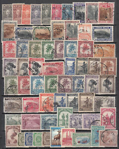 Belgian Congo - small stamp lot