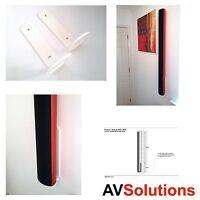BeoLab 6000 / 6002 Wall Brackets (CWB) for Bang & Olufsen B&O - (Pair,White,SHQ)