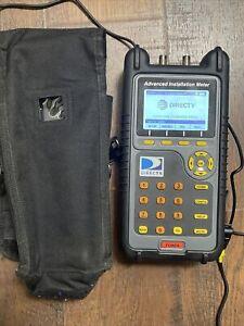 Trilithic DirecTV Advanced Installation Meter Aim01R1-12 Lnb Sl3 SWM Swim Detect