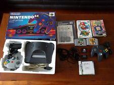 Nintendo 64 Japan system boxed Passport Plus 3 original scart N64 retro extras