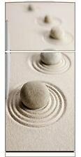 Sticker frigo électroménager déco cuisine Galets 70x170cm réf 2690