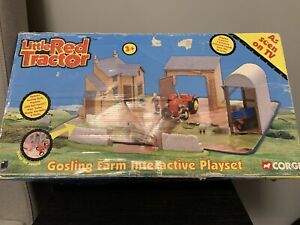 Vintage Corgi Little Red Tractor Gosling Farm Interactive Playset - Boxed - Rare