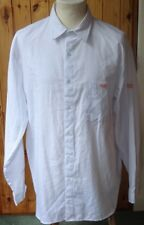 """RAC/Royal Automobile Club Polyester/Cotton Long-Sleeved White Shirt - 17""""/Large"""