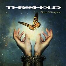 CD THRESHOLD MARCH OF PROGRESS + BONUS TRACK BRAND NEW SEALED