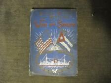 SALESMAN SAMPLE Book w/Orders  Cuba's Fight for Freedom and the War with Spain