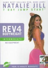 NATALIE JILL'S REV 4 - REV IT UP FOUR 10 MINUTE WORKOUTS NEW SEALED DVD REV4