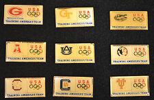 "C737 1996 OLYMPIC UNIVERSITY ""TRAINING AMERICA'S TEAM""  COMPLETE SET LOT"
