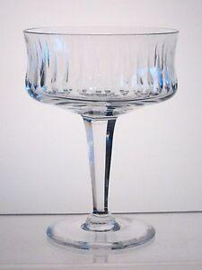 """SONNET ROYAL DOULTON CRYSTAL Champagne Sherbet 5 1/4"""", Signed"""