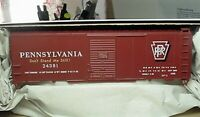 Accurail HO 8128 Pennsylvania PRR 40 ' Riveted Steel Boxcar # 24381