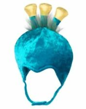 NWT GYMBORee Peacock Velvet Hat 12-18 M Baby FREE GIFT costume tulle headpiece