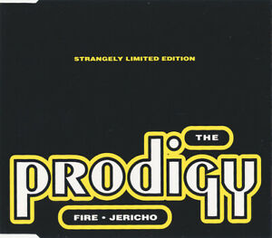 The Prodigy, Fire/Jericho, NEW/MINT original U.K. CD single