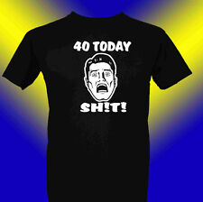 Cumpleaños T-SHIRT 40 Divertido Para cualquier edad 50 60 30 21 18th