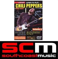 Lick Library Learn To Play Red Hot Chili Peppers Vol 2 RHCP Tuitional Guitar Dvd
