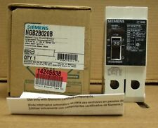 X Siemens ITE 20 amp circuit breaker NGB2B020 480 Volt