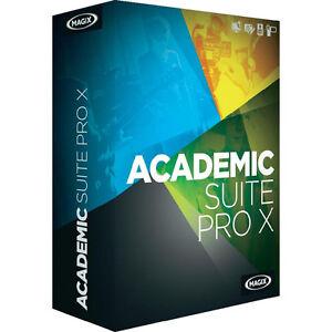 Magix Academic Suite Pro X -Video Pro, Xara Designer, Samplitude Studio Download