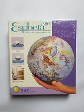 540 Piece Esphera 360 3-D Spherical Earth Globe Jigsaw Puzzle - Josephine Wall