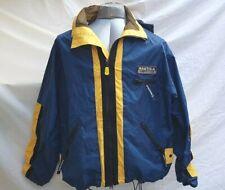 Nautica Competition Sailing Nylon Polyester Windbreaker Jacket Hood Size Small
