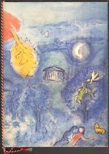 Programme officiel. Chagall. Château de Versailles. Indonésie Soeharto Pompidou