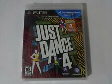 NIP Just Dance 4 Sony Playstation 3 PS3 Game New Sealed Free Ship