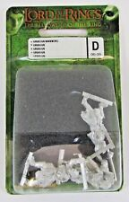 Games Workshop LOTR Uruk Hai Warriors 05-35D Lord of The Rings Metal FREE SHIP