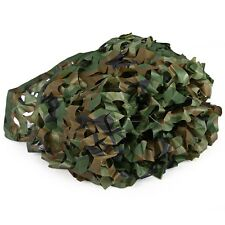 3.2x6.5 feet Woodland Camouflage Netting Military Camo Hunting Army Green Net