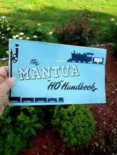 "1948 The MANTUA ""HO"" HANDBOOK & Catalog Booklet Model Railroad Trains"