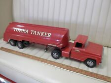 """1959 TONKA Ford """"Tonka Tanker"""" Transport Truck and Trailer Toy"""