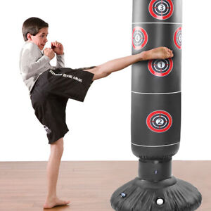 Gads Punching Bag for KidsPremium Inflatable Bag for Immediate Bounce-Back