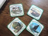 SET OF 4 GREENE KING  BEER COASTERS