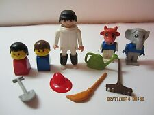 Vintage Lego Fabuland Duplo Geobra People & Accessories Lot