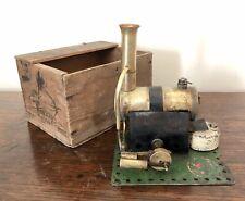 Antique Vintage Bowman M167 Live Steam Engine Model in Original Box