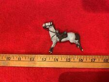 Civil War 60mm White Metal Hand-Painted Horse