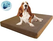 Extra Large Waterproof Orthopedic Gel Cooling Memory Foam Pet Bed for Xl Dog Xp