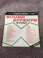 Relastic Sound Effects In Stereo Vinyl Record Lp, Acceptable