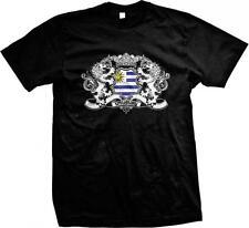 Uruguay Heraldic Lions Uruguayan Pride Orgullo Bandera Uruguaya Mens T-shirt