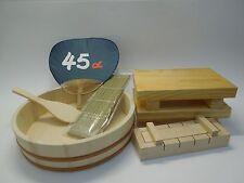 Professionnel sushi set 4 pcs HANGIRI D 30cm, + sushi Maker + 2 sushi planches 24x15 CM NEUF